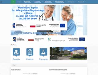 szpital.ilawa.pl screenshot