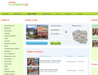 szukajnoclegow.pl screenshot