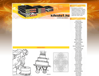 szuletesnapi-kifestok.kifesto1.hu screenshot