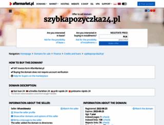 szybkapozyczka24.pl screenshot