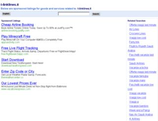 t-linklines.it screenshot