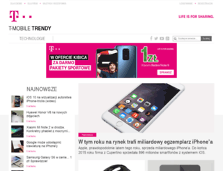 t-mobile-trendy.pl screenshot