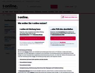 t-online-shop.de screenshot