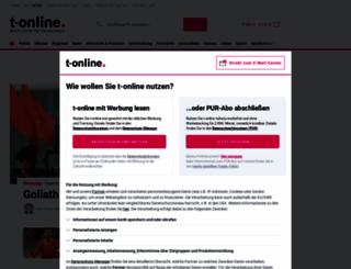 t-online.com screenshot