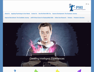 t-phi.co.uk screenshot