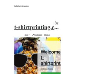 t-shirtprinting.com screenshot