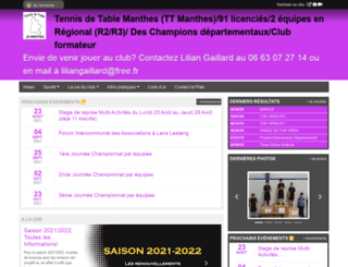 t-t-r-v.sportsregions.fr screenshot