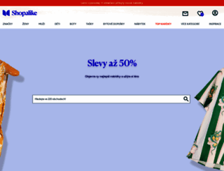 t.shopalike.cz screenshot