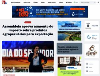 t1noticias.com.br screenshot