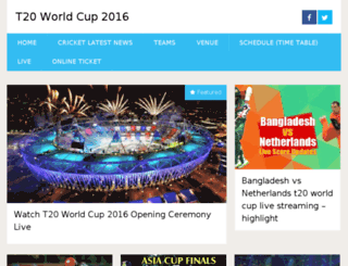 t20-worldcup2016.in screenshot