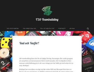 t20.se screenshot