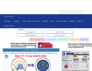 t20worldcricket.com screenshot