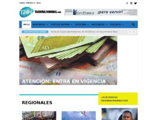 t24horas.com screenshot