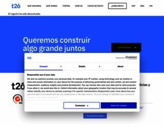 t2omedia.com screenshot
