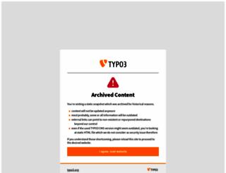 t3con08.typo3.org screenshot
