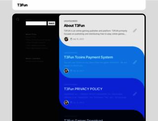 t3fun.com screenshot