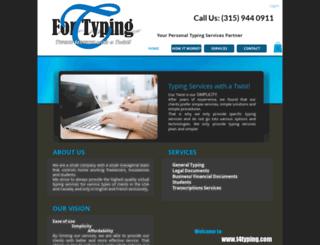 t4typing.com screenshot