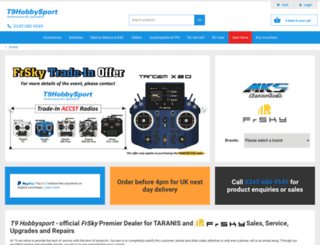 t9hobbysport.com screenshot