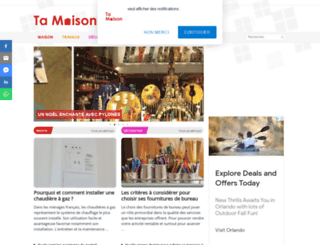 ta-maison.fr screenshot
