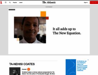 ta-nehisicoates.theatlantic.com screenshot