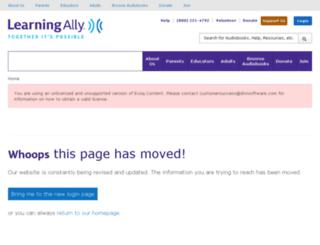 ta-st.learningally.org screenshot