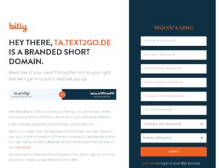 ta.text2go.de screenshot