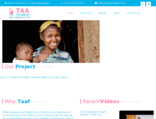 taafng.org screenshot