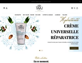 taaj.fr screenshot