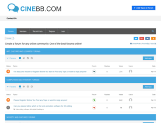 taamelbyot.cinebb.com screenshot
