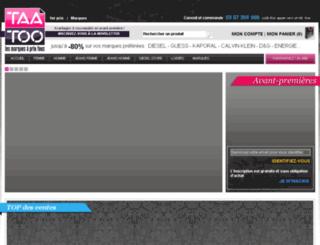 taatoo.fr screenshot
