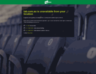 tab.com.au screenshot