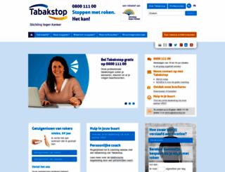 tabakstop.be screenshot