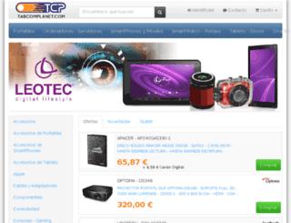 tabcomplanet.com screenshot