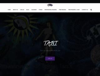 tabi.org.uk screenshot