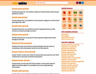 tabirler.net screenshot