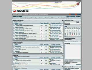 tabla.mobile.si screenshot