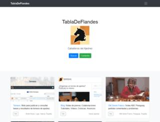 tabladeflandes.com screenshot