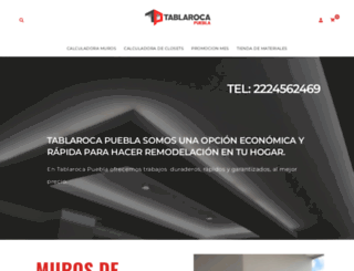 tablarocapuebla.com screenshot