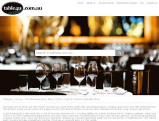 table4u.com.au screenshot