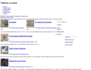 tableau-occasion.com screenshot