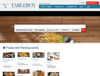 tableboy.com screenshot