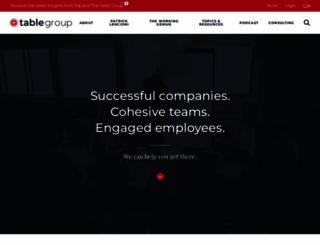 tablegroup.com screenshot