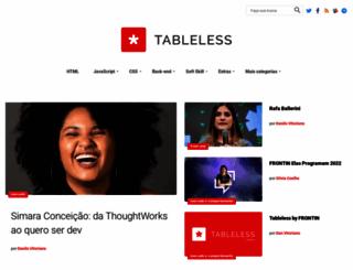 tableless.com.br screenshot