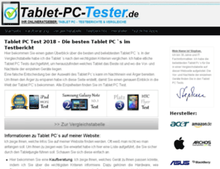 tablet-pc-tester.de screenshot