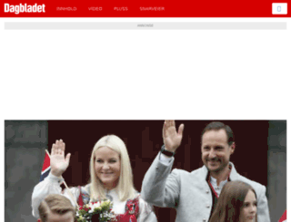 tablet.dagbladet.no screenshot