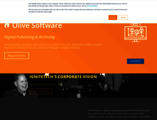 tablet.olivesoftware.com screenshot