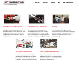 tabletcompressionresources.com screenshot