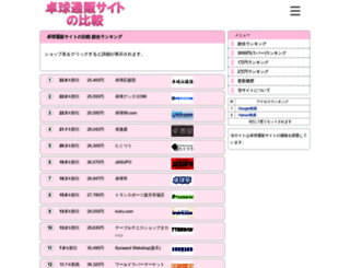 tabletennis.mtfj.net screenshot