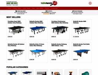 tabletennis365.com screenshot