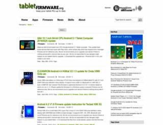 tabletfirmware.org screenshot